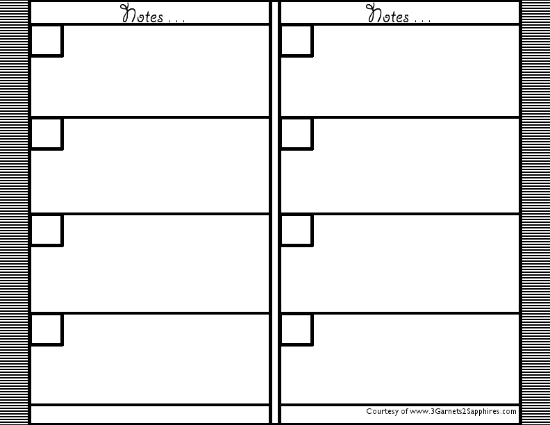 Doc12361600 Printable Notepad Paper printable lined writing – Printable Notepad Paper
