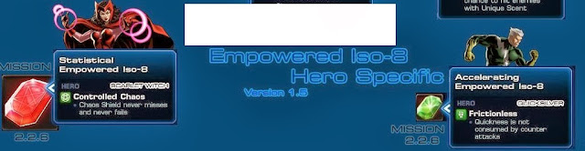 Character Specific Empowered Isos 5