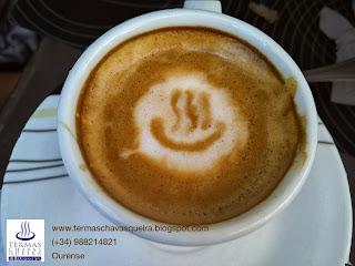 Relaxing café con leche, termalismo, Ourense, spa, Termas Chavasqueira, onsen