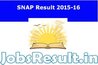 SNAP Result 2015-16