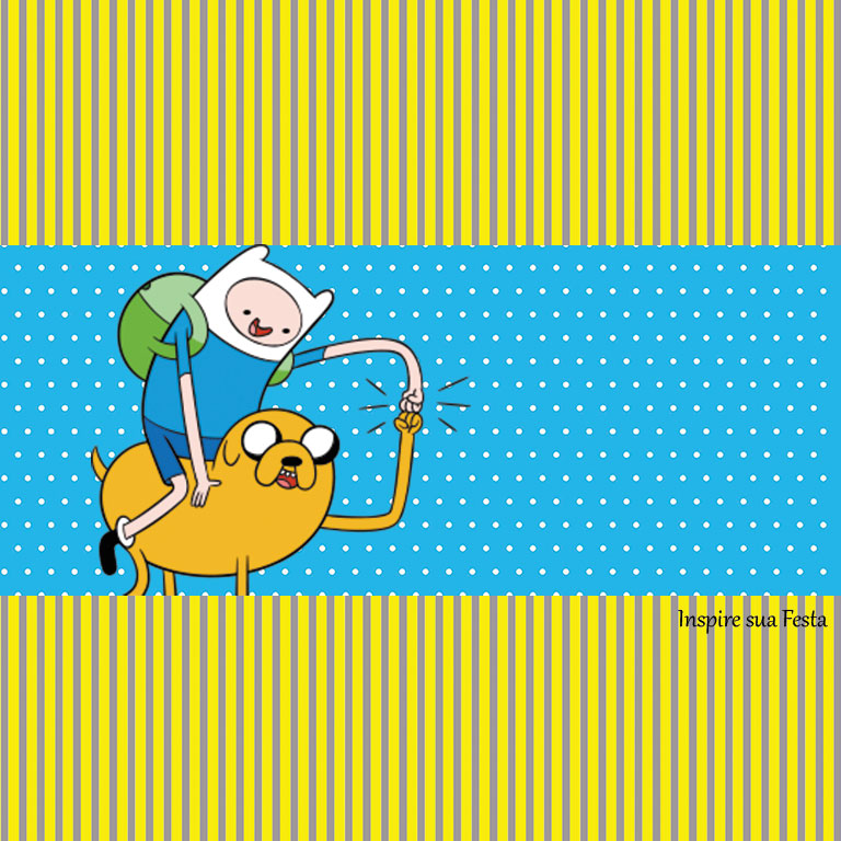 Adventure Time Party: Free Party Printables, Invitations and Candy ...