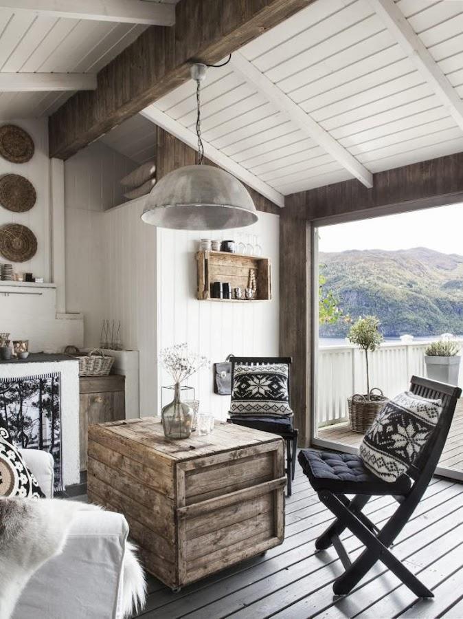 Un refugio nórdico lleno de buenas ideas para nuestro hogar