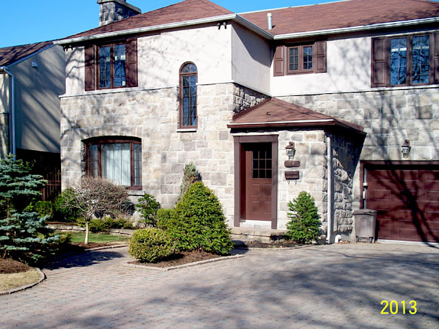 дом из дерева в Канаде