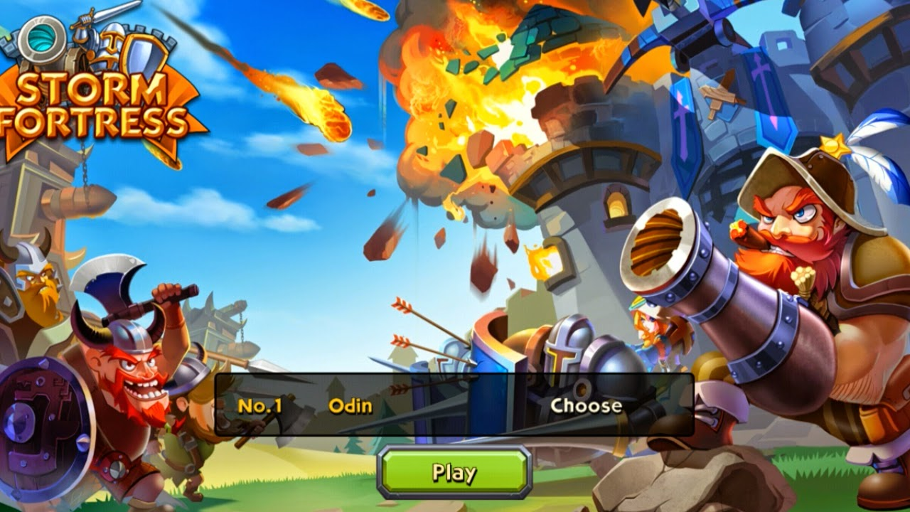 Storm Fortress : Castle War Gameplay Android | PROAPK