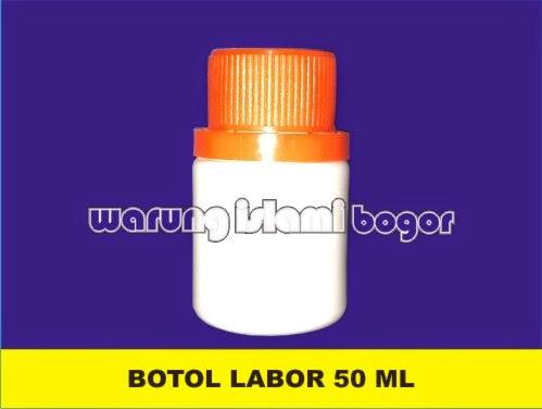Jual Botol Plastik Kapsul HDPE 50ml