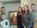 Ікона Святої Сім'ї 16.01.2016. розпочала візит у родинах Домашньої Церкви Дунаєвецького р-ну