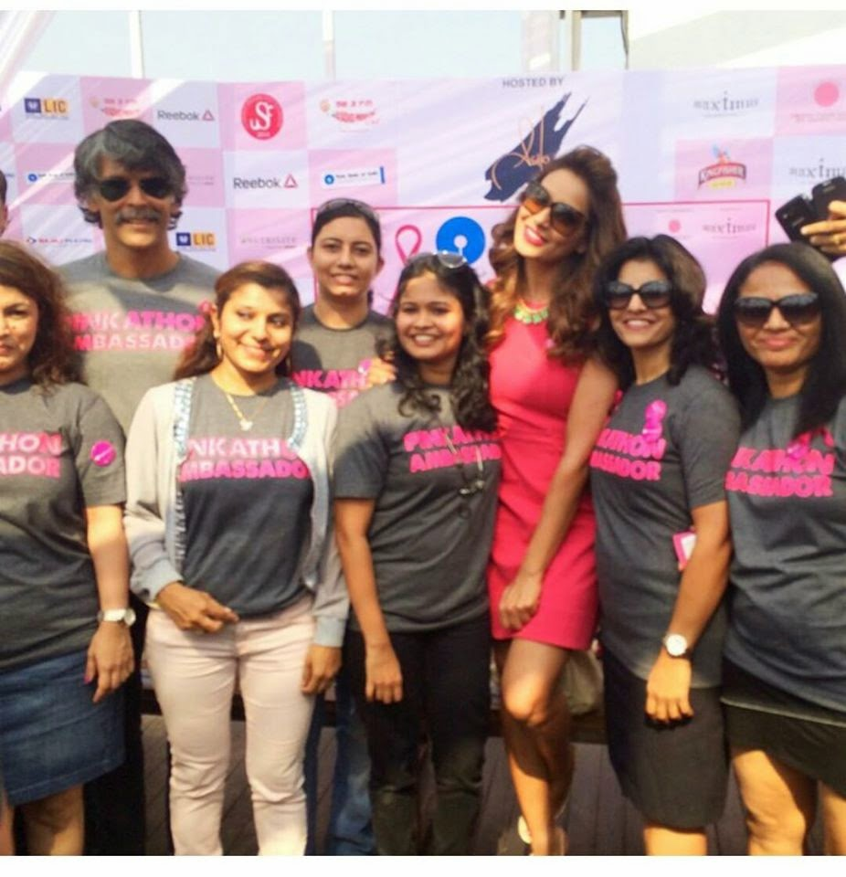 Bipasha Basu at Pinkathon event gallery