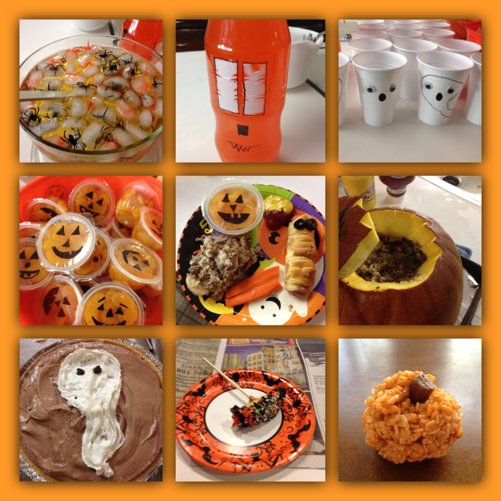 Mommy lessons 101 last minute halloween fun party food for Last minute party food
