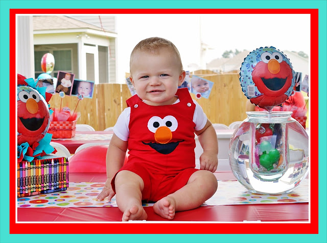 Elmo Dorothy Party