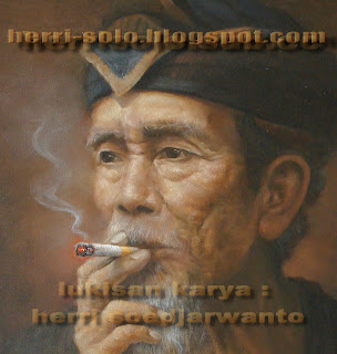 Lukisan wajah Kakek Merokok, Herri Solo
