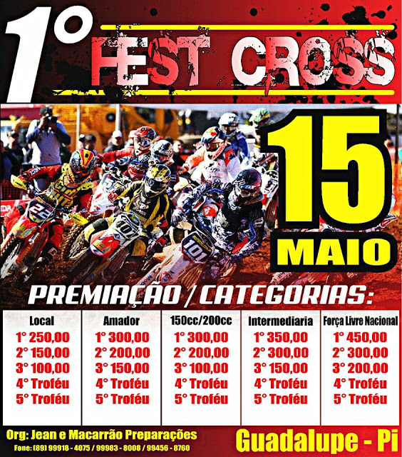 VEM AI O PRIMEIRO FEST CROSS DE GUADALUPE
