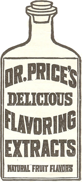 Royalty Free Antique Graphic/Dr. Price's Baking Extracts/printable clip art/via knickoftimeinteriors.blogspot.com