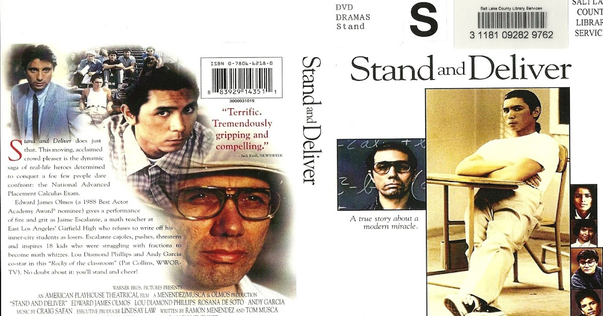 essay movie stand deliver Film review(stand and deliver) on studybaycom - write a review about the movie (stand and, online marketplace for students.