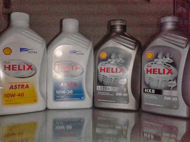 Oli Shell Helix oli pilihan anda_kualitas terbaik