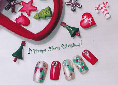 December nail inspiration christmas nails there are many different nail looks you can do for christmas whether you prefer warm or cool colours prinsesfo Gallery