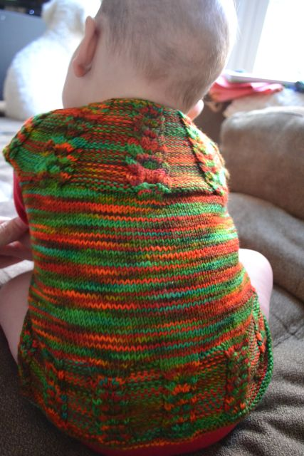 Wollmeise Sock Yarn 80/20 DROPS Design Baby Sweater