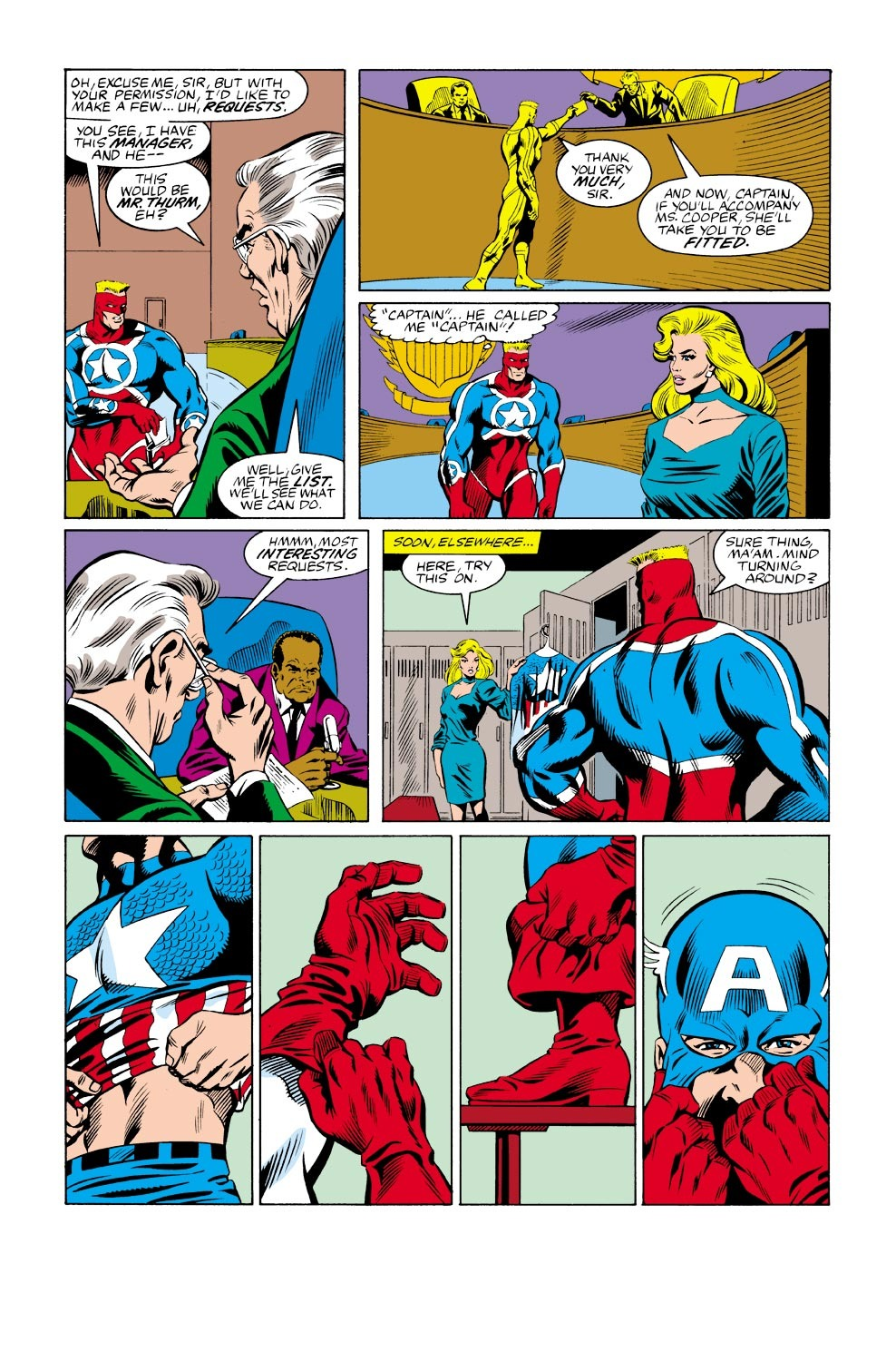 Captain America (1968) Issue #333 #262 - English 17