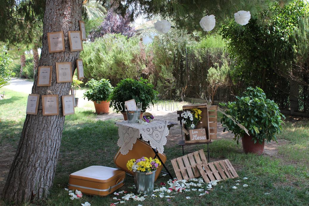 Decoracion Rustica Para Boda ~ Bodas a medida Una boda con aire R?stico  Vintage en Valencia