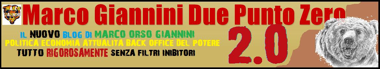 Marco Giannini Due Punto Zero