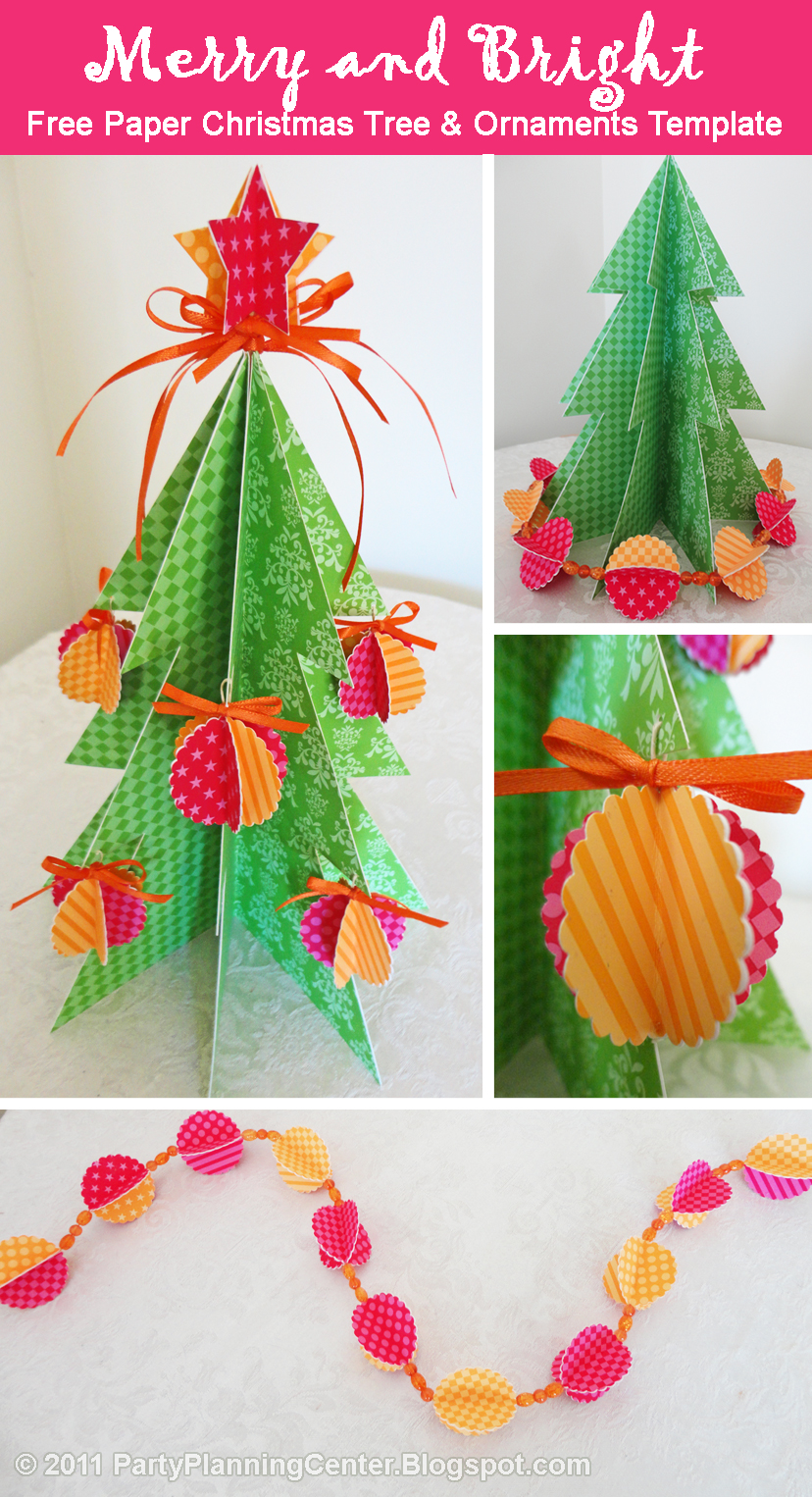 Paper christmas decorations g