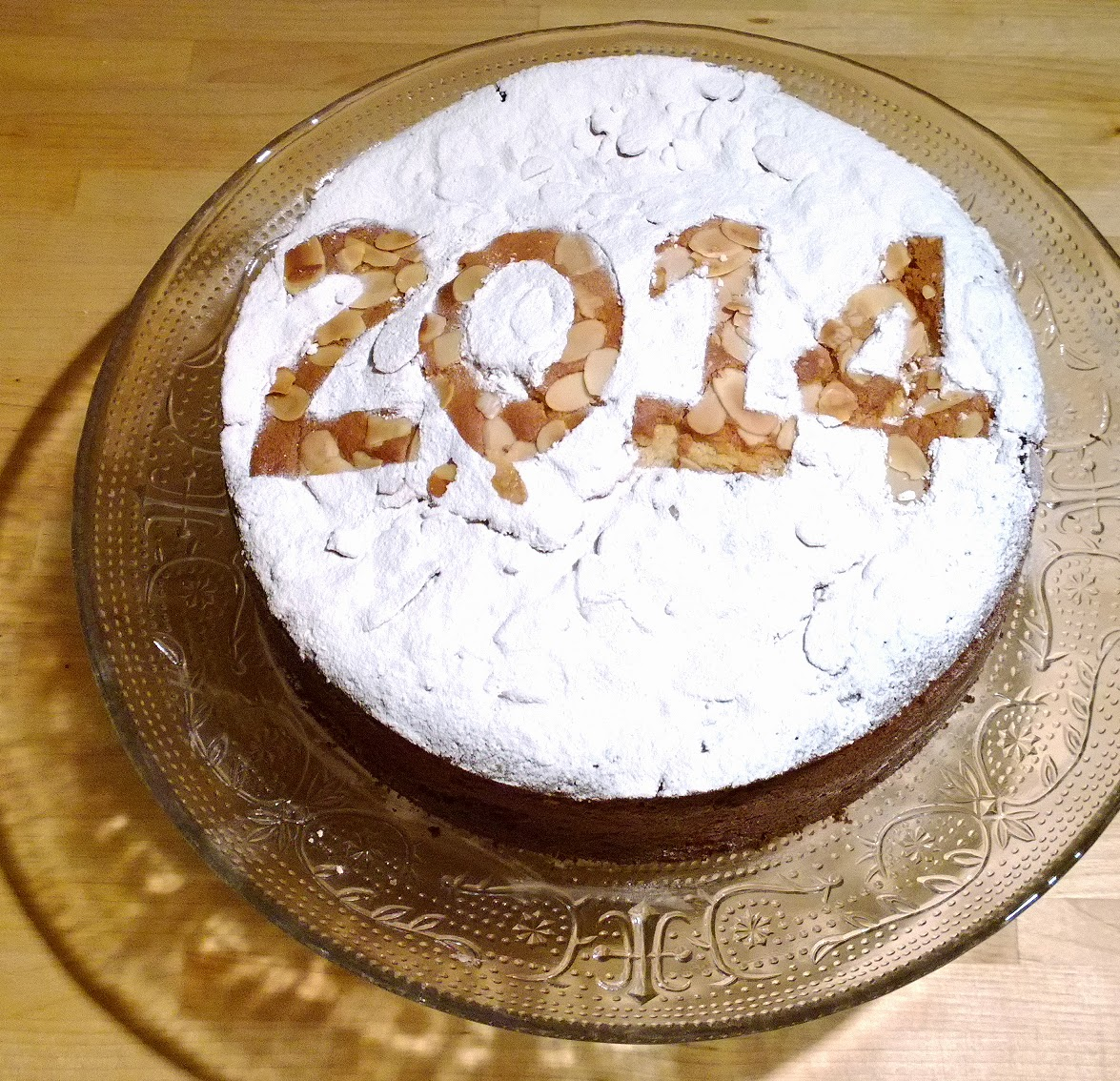 Charlie makes cakes: Vasilopita – Greek New Year's Eve Cake