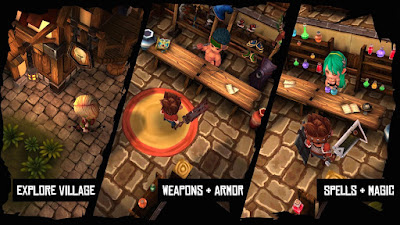 Heroes Curse 2.0.5 MOD APK+DATA-screenshot-1