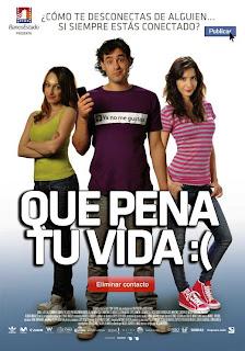 Ver online:Que pena tu vida (2010)