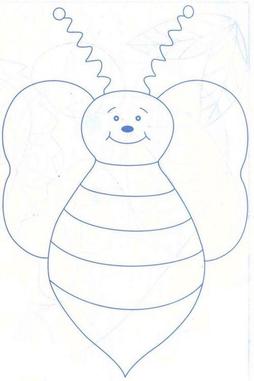 Moldes y Figuras de Sucha Foami: avejas