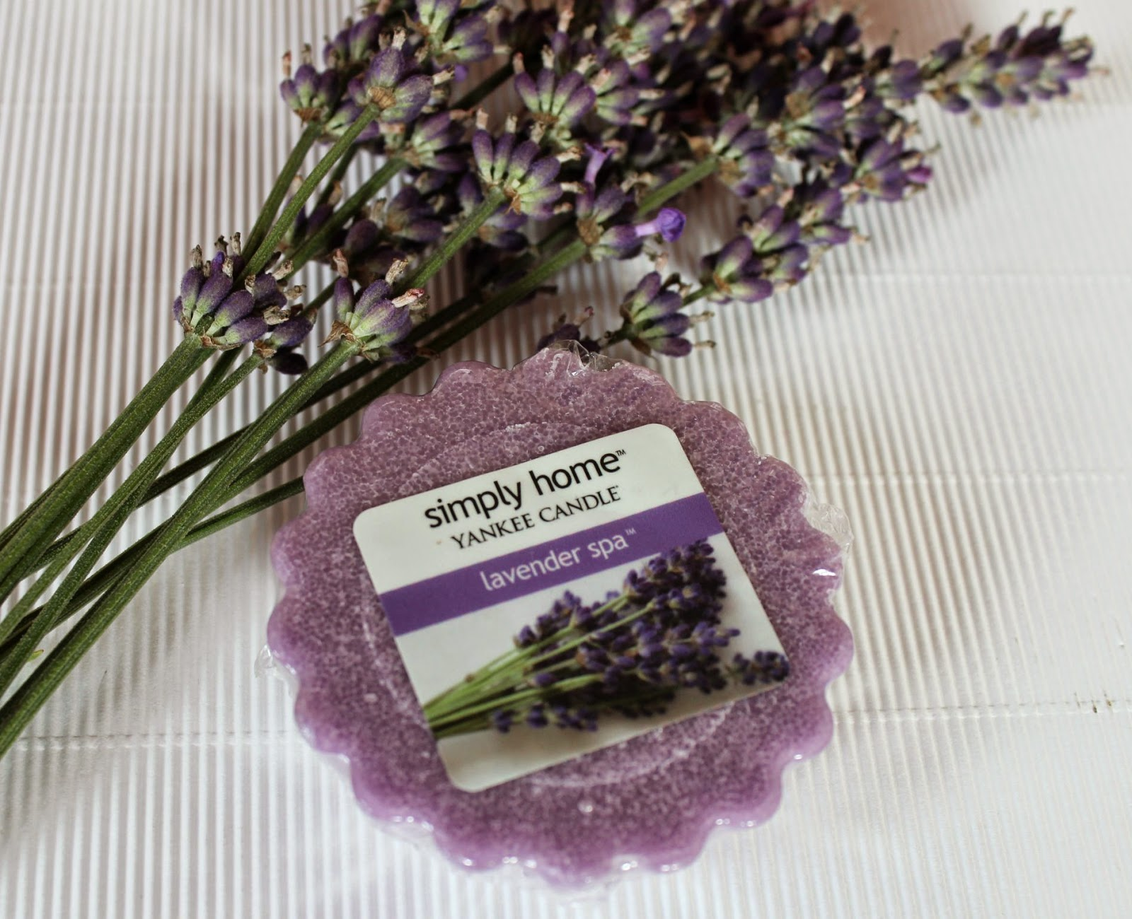 Yankee Candle Lavender SPA Simply Home
