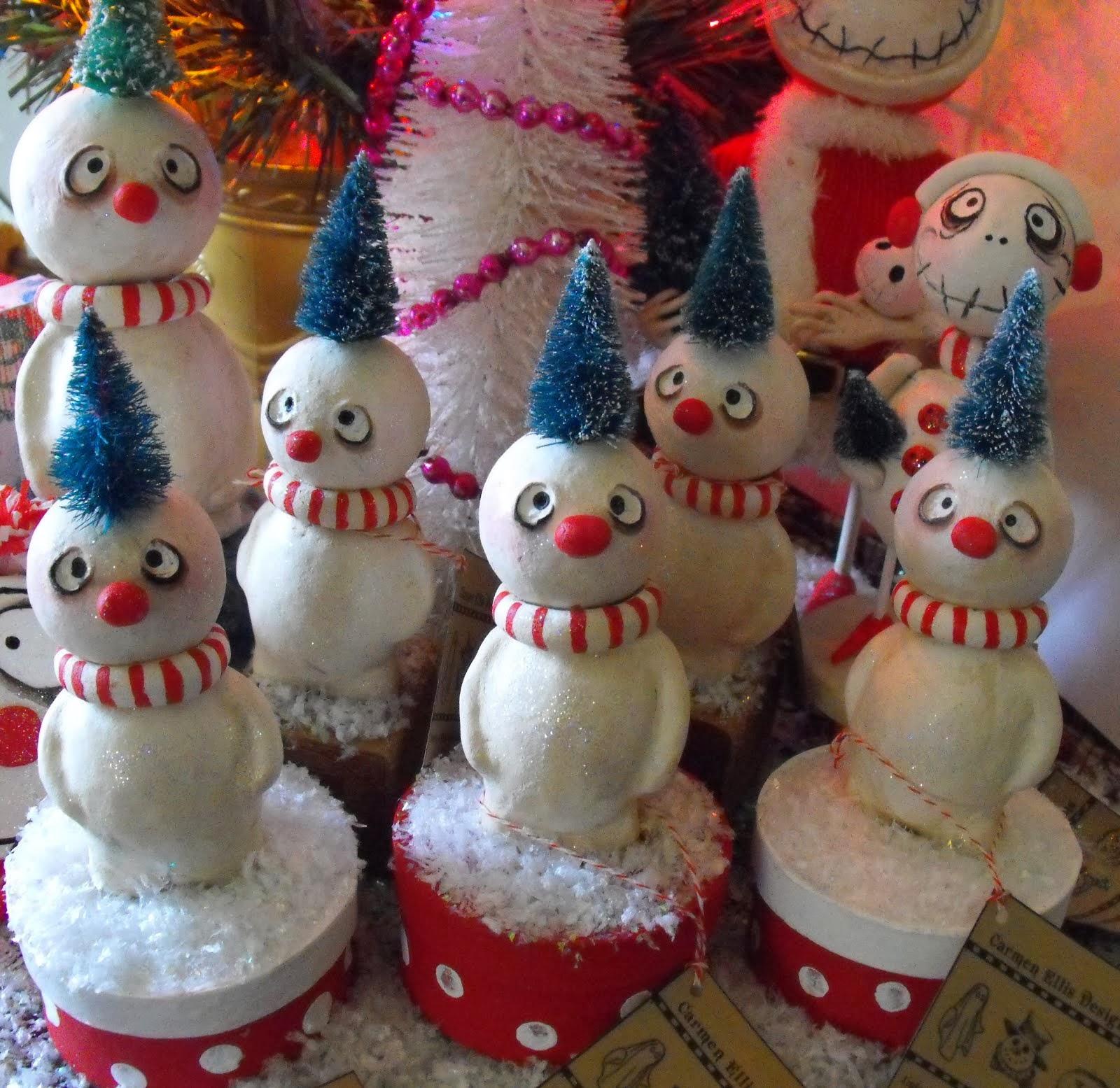 Grimmy Snowmen