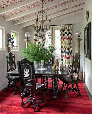 Martyn+Lawrence-Bullard+-+goth+dining+room.jpg (324×400)