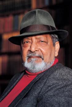 El escritor y premio Nobel V. S. Naipaul.-