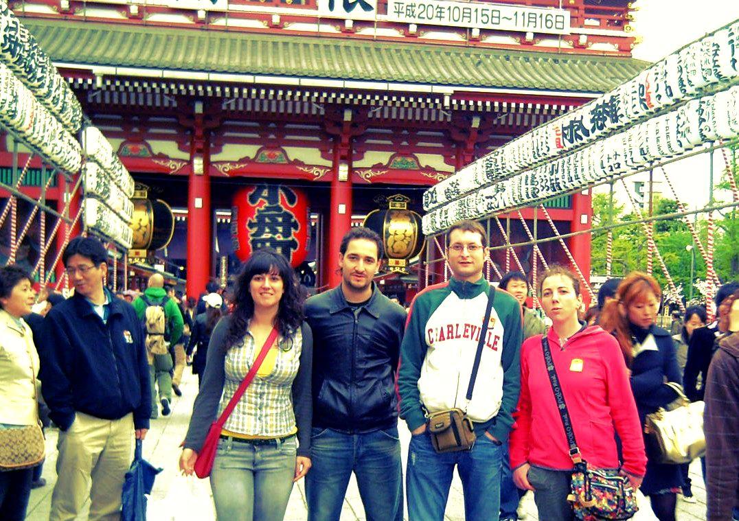 Templo de Asakusa en Tokio (Tokyo), Japon
