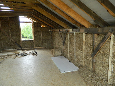 Straw Bale house Ukraine UA