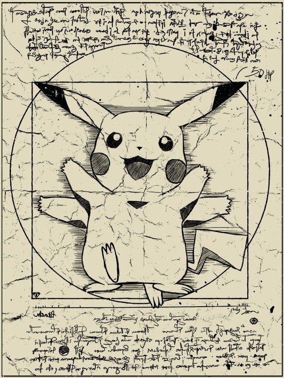 Anatomia Pokémon