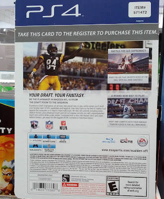 Madden 16 allows you to make your own fantasy football team