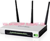 Jual TP LINK TL-WR1043ND Rp. 518.000, Wireless N Gigabit Router Kecepatan nirkabel hingga 300Mbps + 1 USB port +4 Gigabit port - Hanya di WAYANK Komputer Semarang