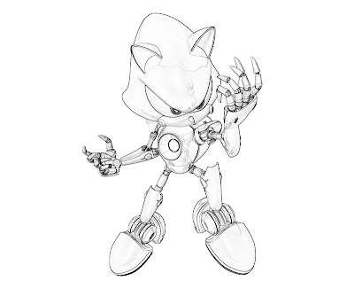 Sonic Generations Coloring Pages