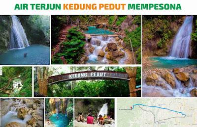 air terjun keedung pedut girimulyo kulon progo D.I Yogyakarta