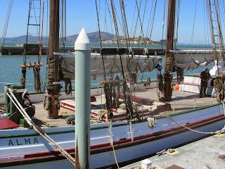 schooner alma