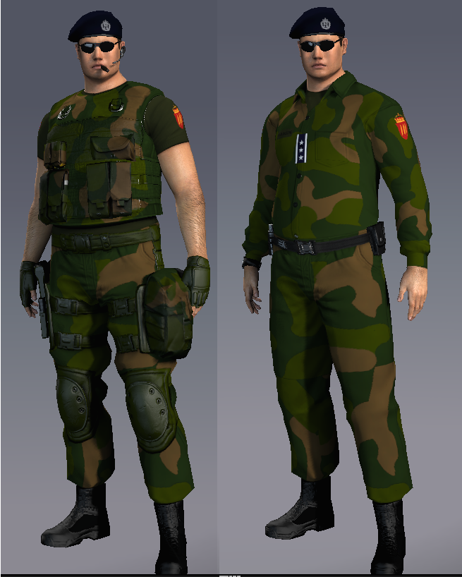 updated norwegian military uniform with limited edition combat gear ...