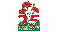 MORA: COMEMORAÇÕES DO 25 DE ABRIL NO CONCELHO