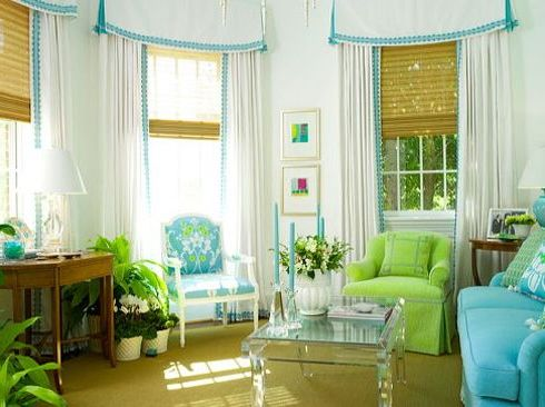 How to recycle natural green living ideas for Turquoise color scheme living room