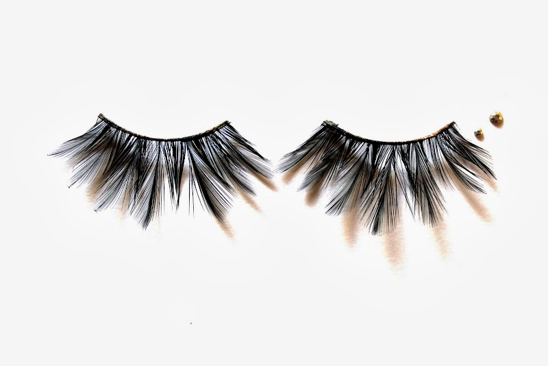 FEATHERS IN MY LASHES