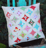 cathedral windows pillow
