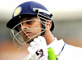 Indian batsman Rahul Dravid
