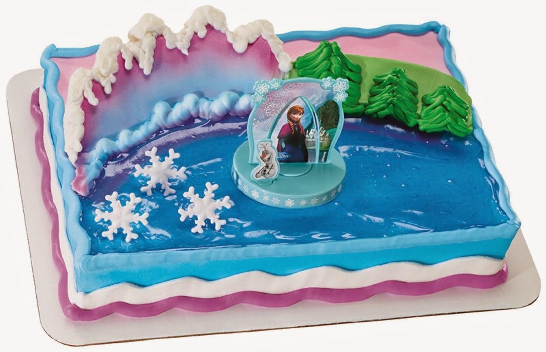 Elenasprinciples Frozen Birthday Cake Topper