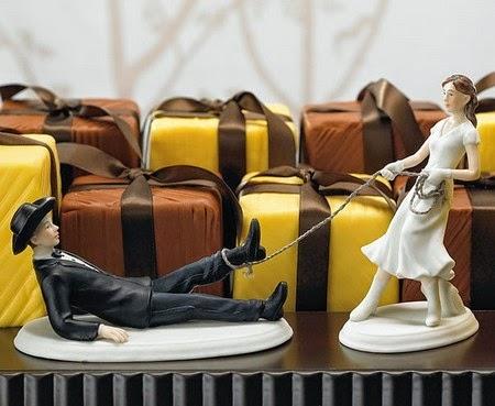 Figuras Graciosas, Pastel de Bodas