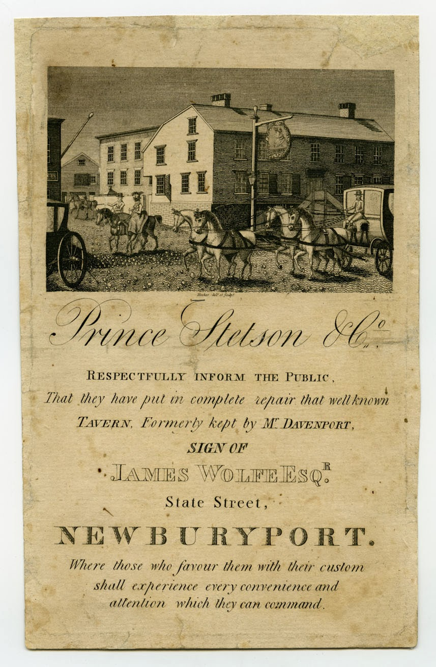 Theraconteuseexpose some old inns of newburyport prince stetson formerly of the wolfe tavern returned to newburyport in 1823 and assumed charge of the washington hotel on the corner of state and temple stopboris Gallery