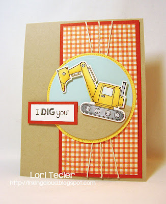 I Dig You-designed by Lori Tecler-Inking Aloud-stamps from Taylored Expressions